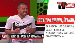 ¡Imperdible y emotivo mano a mano con el #Chelo #Weigandt!