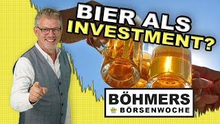 Wieso sich ein Investment in Bier und Brauereien lohnen kann