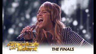 Glennis Grace LIGHTS UP The AGT FINALS Stage & We're SHOOK!!   America's Got Talent 2018