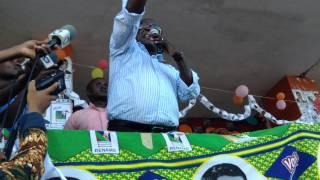 preview picture of video 'Comicio Dhlakama Nampula  Vocês são escravos da Frelimo'