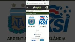 Argentina x Islândia Análise e TIP Gratuita