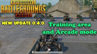 PUBG MOBILE - New Update Gameplay - TRAINING AREA and ARCADE MODE