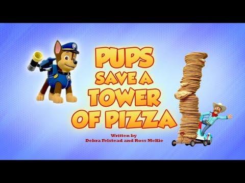 Щенячий патруль | 5 сезон 26 серия(Б) |Щенки спасают башню из пиццы🍕