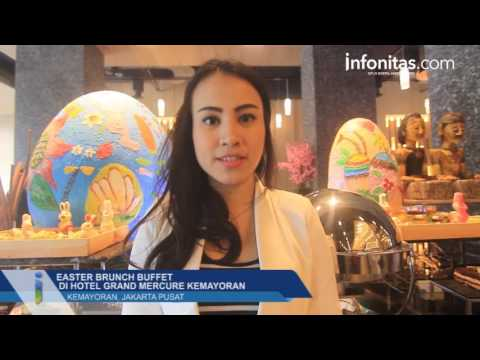 Easter Brunch Buffet di Hotel Grand Mercure Kemayoran