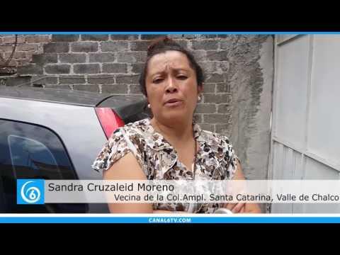 Vecinos de la colonia Ampliación de Valle de Chalco piden más seguridad en la zona