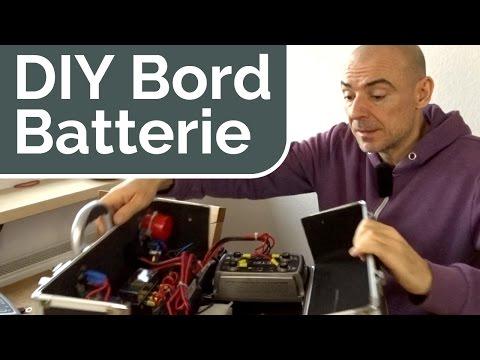 DIY Zusatzbatterie + 12V Elektrik für Auto, Camper & Wohnmobil
