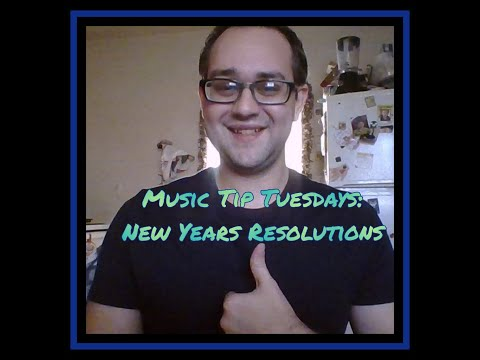 Have you set your New Year's Resolution for your musical journey?