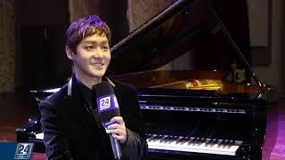 Южнокорейский пианист и композитор Шин Джихо дал концерт в Астане
