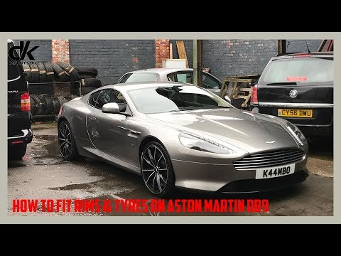 How to fit Rims & Tyres on Aston Martin DB9