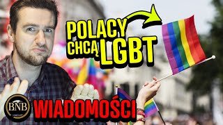 Polacy POPIERAJĄ związki partnerskie! Polacy o LGBT | WIADOMOŚCI