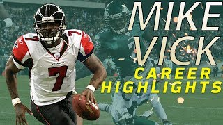 Michael Vick's UNREAL Career Highlights | NFL Legends Highlights