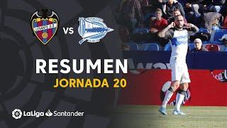 Highlights Levante UD vs Deportivo Alavés (0-1)