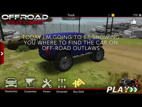 [How To Find The Car On] Off-road Outlaws