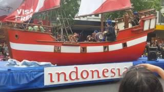 Farmers Santa Parade 2016, Auckland, NZ- Indonesian Display