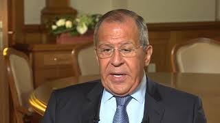 "Интервью С.Лаврова Л.Кингу на ""РТ""// S.Lavrov's interview with Larry King"