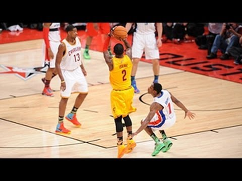 Kyrie Irving's ankle-breaking moves on Knight!