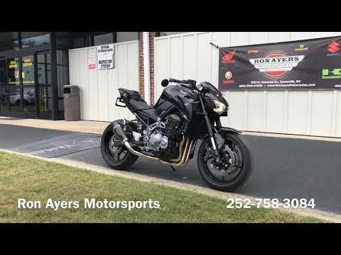 2018 Kawasaki Z900 in Greenville, North Carolina - Video 1