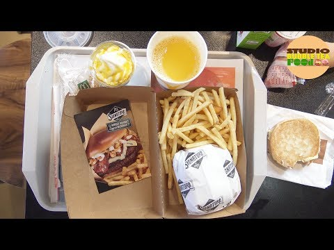 [MCDO] Que vaut le menu burger Signature chez Mc Donald's ? - Studio Bubble Tea Food Fast Food