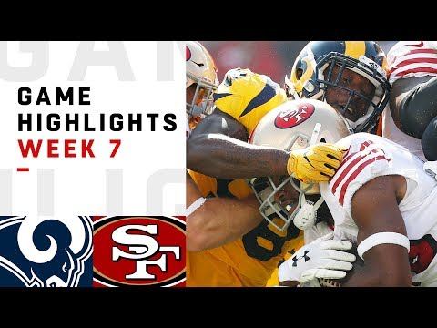 Rams vs. 49ers Week 7 Highlights | NFL 2018