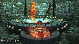 TES 5: Skyrim #Кузница атронахов - Посох Огненного Атронаха