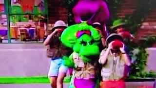 Barney. jungle adventure.