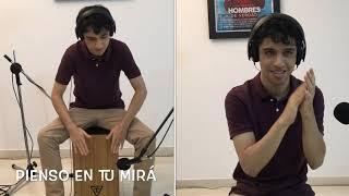 Rosalía - Pienso en tu mirá (Cap.3: Celos) Cover Cajón Y Palmas_ Miguel Padilla