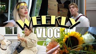 Vlog: Birthday mit Kostümen, grillen w/ friends & Umzug rückt näher   Jennifer Saro