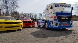 ГРУЗОВИК почти сделал BMW M3 ... Тест-драйв MAN TGS Tamiya Team Hahn Racing