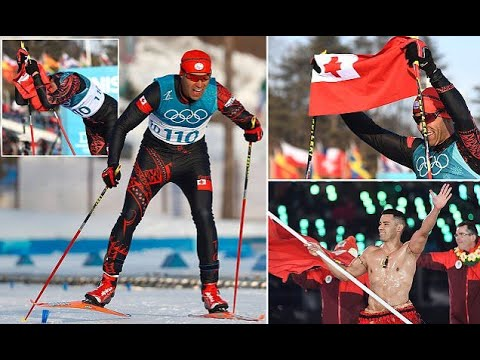 Topless Tongan achieves his goal of 2018 Winter Olympics