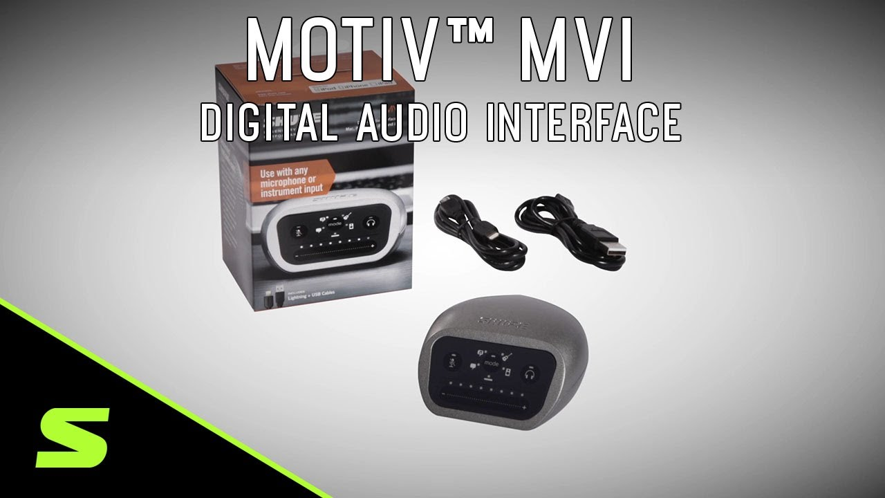 Shure MOTIV MVi Digital Audio Interface Product Video