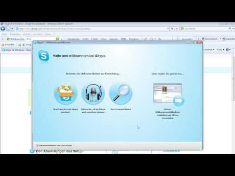 Skype - Installieren, einrichten und anwenden
