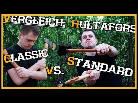 Hultafors Beile: Trekking vs Classic - Vergleichstest Review Outdoor Bushcraft Deutschland