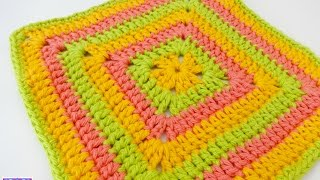 How To Crochet The Tropical Punch Dishcloth, Episode 209