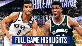 NETS at BUCKS - FULL GAME HIGHLIGHTS  2019-20 NBA Season