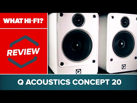 Q Acoustics Concept 20 speakers review