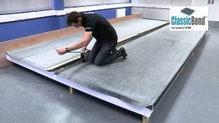 How to  join membranes on a roof with seam (Video)