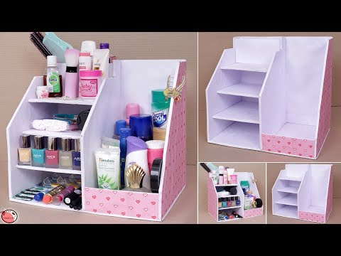 DIY ROOM Organizer !! Multi Storage Box || Organization Idea