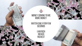 #visualizeandaffirmations   Indian Currency   Money kick   Money factory in India   money counting