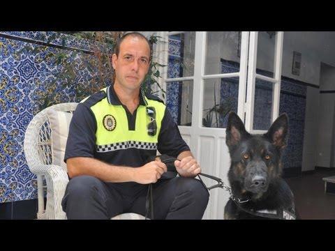 """""""La gente te da enseguida la droga ante la presencia del perro policía"""""""