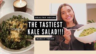 THE TASTIEST KALE SALAD- MY HEALTHY RECIPES | NICOLE ELISE