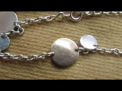 Hermes clou de selle rose gold and silver bracelet for sale thingseyelike