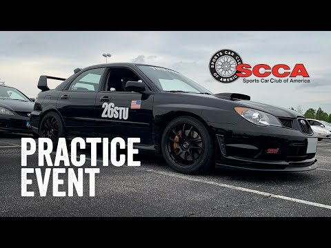 SCCA WDCR Autocross Practice Event (STU) - FedEx Field Stadium (4/14/19)