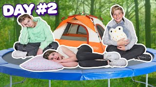 LAST TO LEAVE TRAMPOLINE WINS $10,000 With My Crush **FUNNY CHALLENGE**🔥❤️ |Walker Bryant