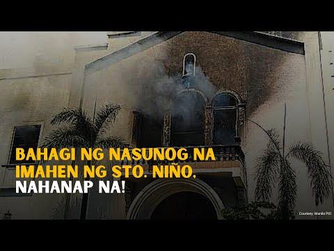 [GMA]  GMA Digital Specials: Bahagi ng nasunog na imahen ng Sto. Niño,Sto. Niño, nahanap na!