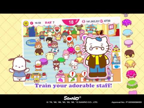 Video of Hello Kitty Cafe