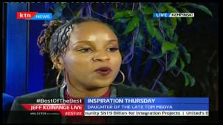 JKL: Inspirational Thursday; Mboya Kidero-Coca Cola president and Tom Mboya's Daughter, Part 3