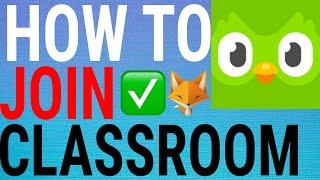 How To Join A Classroom on DuoLingo (Progress Sharing)