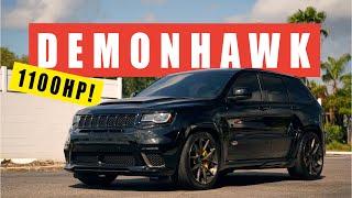 1100HP DEMONHAWK! - Craziest Jeep Trackhawk Build!
