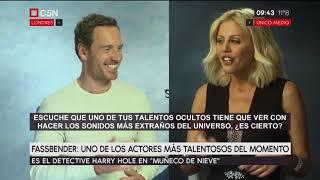 Barbie Simons en exclusiva con Michael Fassbender, uno de los actores más talentosos (parte 2) | Kholo.pk