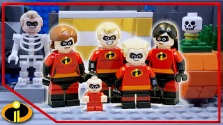 Incredibles 2 Funniest Moments - Lego Stop Motion | Cartoon For Kids